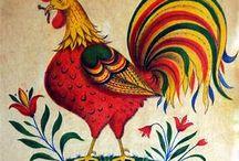 chicken in mosaic IDEAS