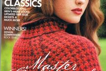 Knitting & Crochet Patterns / a few of the pattern books & leaflets available in the shop or available free online