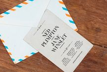 Stamp Ideas / Some great ideas showing how you might use a stamp in your branding, wedding stationery, and more.