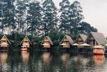 Dusun Bambu, Bandung. West Java. Indonesia
