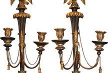 Regency style furnishings