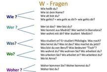Tysk - W-Fragen
