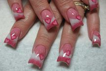"""""""Nailed"""" It beautifully  / Anything goes when it comes to nails / by Teresa & Jessica"""