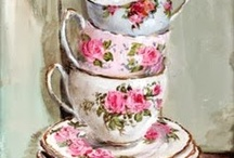 Shabby china / All the china that I love. Would use it everyday!!!!! / by Jopie Berends-Fox