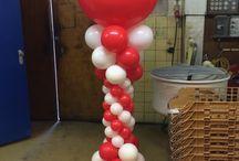 Luxe ballonnenpilaren