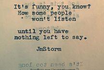 Phrases I love