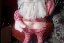 bonecos natalinos