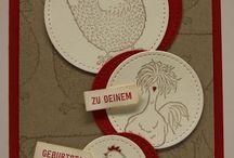Cards - SU Hey Chick