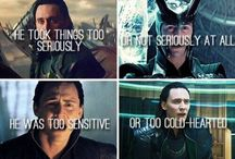 Loki.  / KNEEL BEFORE ME