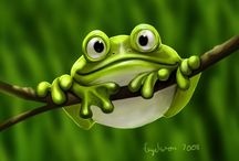 Frog art / by Sherry Soetaert