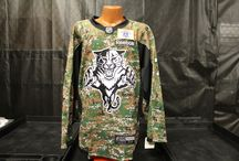 Military Appreciation Night / On Nov. 10 the Florida Panthers honored retired and active Military with Camouflage jerseys and more.