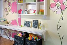 Little Girl's Room / We're just starting the process of adopting a little girl--between the ages of 5-7. We'll be getting her room ready over the next several months. We'll need her help to add the final touches--but we'll need a nice palate, a home base, to begin with.