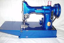 Vintage sewing machines / by Helen Martin
