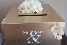 Post box wedding