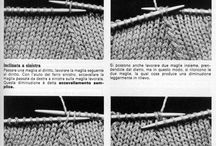 diminuzioni maglia