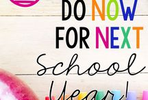 Beginning of school year