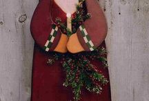 Wooden Christmas images