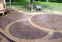 sidewalk patio flooring