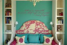 ideas for the kids rooms  / by Delia Gomez