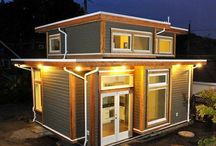 Tiny Houses / Cool ideas for the Tiny House / by Steve & Debbie Fischer