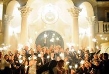Grand Wedding Exits / From Sparklers to Confetti.  One last moment before you end your Wedding night.