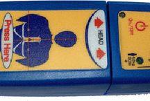 Armoires, signalétiques et électrodes pour défibrillateurs / Armoires, signalétiques et électrodes pour défibrillateurs