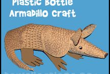 Armadillo Crafts / Armadillo Crafts and Learning Activities