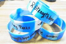 Wholesale Silicone Awareness Bracelets / Silicone made awareness bracelets are of latex-free and so you can be tension-free on allergenic issues. And since these bands are customizable, you can put your wish message and logo on it to represent your awareness campaign. / by High Quality Wristbands