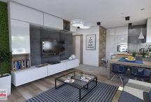 aneks kuchenny +pokój dzienny