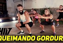 Hit-localizada-yoga ou alongamento