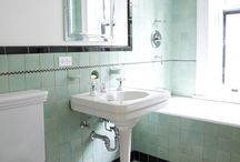 Bathroom Tile Ideas / A bathroom remodel is the perfect time to consider what can be done with tile. From ceiling to walls to floor, tile is a rainbow of possibilities.