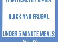 Trim Healthy mama Quick and Easy Frugal Meals THM