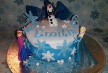 Cake / Eiskönigin Elsa Anna Olaf Frozen Fake