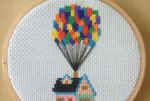 Sewing with embroidery hoops / Idea for using embroidery hoops
