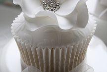 Cup cakes de bodas