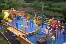 AA WATER PLAY: PVC Pipes, Splash Pads, Water Walls, Water Blobs etc.
