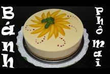 Mousse desserts recipes làm bánh kem rau câu Bánh kem Agar Agar