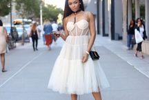 SA Media Star Bonang Matheba at NYFW / New York Fashion week