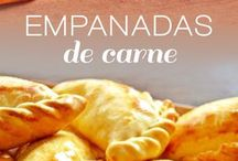 Empanadas de carne argentinas.
