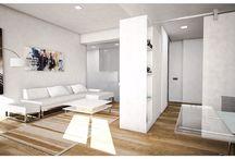 Diseños de viviendas.                                                        Un diseño de DiDá (+34 665 086 265) para Nicolás Escalona Construcciones / Interiores de viviendas
