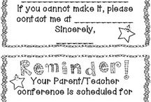 Parent/Teacher Conferences / by Alyson Huston