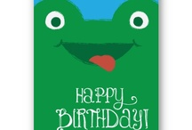 birthday bash / Birthday ideas for the young and old!  If you would like a special design, just contact the designers at Perfect Postage.  We'll be glad to help!