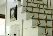 Foyer/stair case / by Stacy Conrad