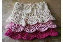 Crochet skirts&dresses / Beautiful crochet skirts for girls and women