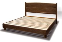 Beds, from David Stine Woodworking / Custom beds, handcrafted with sustainably harvested American hardwoods, by David Stine Woodworking. Visit StineWoodworking.com to order.