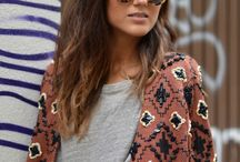 My Style - Clean Boho Chic / my unique style inspo: basics with boho pieces.