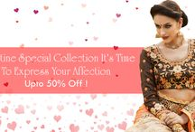 Valentines Day Special / #Valentines Day special collection its time to express your affection!! nallucollection.com