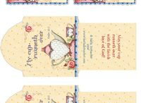 Tea Time Postmarks