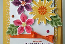 Flower Patch Card Ideas / by Laurie Graham: Avon Rep/Stampin' Up! Demo