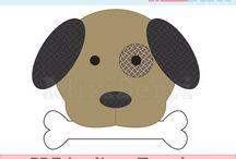 Hond met bot applicatie